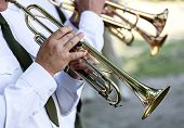 Постер, плакат: Musicians At The Festival Of Military Brass Bands