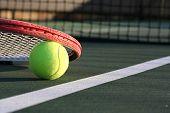 Tennis Ball & Racquet