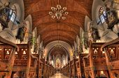 picture of santhome  - Intricate architecture at Santhome Bascillica in Chennai India - JPG