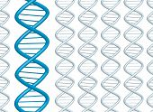 picture of double helix  - DNA background ideal for a presentation or web page - JPG