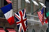 British And American Flag