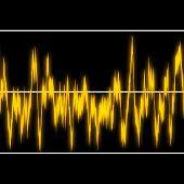 Yellow Audiowaves