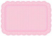 image of eyeleteer  - Eyelet lace place mat - JPG