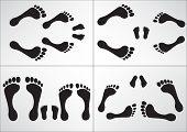 Familia de pie