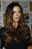 SAN DIEGO - JULY 22: Kate Beckinsale arriving at a press event for 'Total Recall' during Comic-Con in San Diego, California on July 22, 2011.