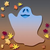 Friendly Halloween Ghost