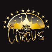 Gold big top. A gold circus big top for you.