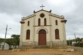 NOVO CRUZEIRO, BRAZIL - JULY 27: An exterior of the church of Sao Bento is shown July 27, 2005 in No