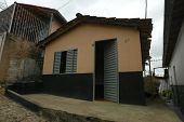 NOVO CRUZEIRO, BRAZIL - JULY 27: A simple home is shown on July 27, 2005 in Novo Cruzeiro, Brazil. O