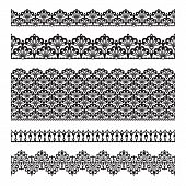 Seamless lace set