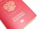 passport isolated