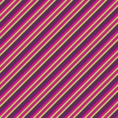 Pink Lime & Purple Diagonal Stripe Paper