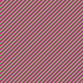 Hot Pink & Green Diagonal Stripe Paper