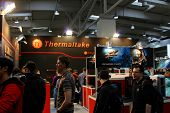 Hannover - March 10: Stand Of Thermaltake On March 10, 2012 At Cebit Computer Expo, Hannover, German