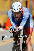 LOS ANGELES - MAY 22: Dave Zabriskie of team Garmin-Transitions during stage 7 of the Amgen Tour of