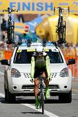 LOS ANGELES - MAY 22: Peter Sagan of team Liquigas-Doimo during stage 7 of the Amgen Tour of Califor