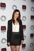 LOS ANGELES - APR 12:  Torrey DeVitto arrives at Warner Brothers