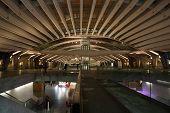 stock photo of gare  - Oriente train station  - JPG