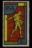 South Africa Postage Stamp Sower 1820-1970