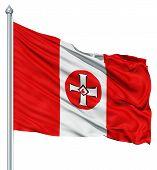 Waving Flag of KKK