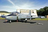 Jet Provost Trainer Aircraft At Raf Leuchars Airshow, Scotland