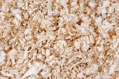 wooden shavings chips texture background