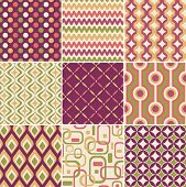retro seamless pattern