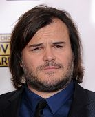 LOS ANGELES - JAN 10:  Jack Black arrives to the