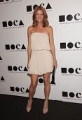 LOS ANGELES - NOV 12:  MICHELLE STAFFORD arriving to MOCA Annual Gala 2011  on November 12, 2011 in Los Angeles, CA