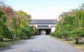 Постер, плакат: Вторичные ворота сады замка Нидзе Киото