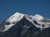 Beautiful Mountain Named Weisshorn, Alps