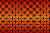 Seamless pattern texture on gradient background
