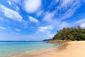 Paradisiac beach in Phuket Thailand