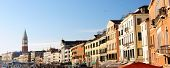 schöne Aussicht auf Venedig