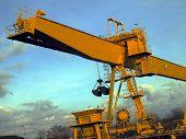 Loader, Crane At The Coal Yard