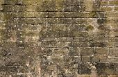 Grungy Wall In Essaouria, Morocco