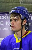Ice-hockey Player Olexiy Ponikarovsky Of Ukraine