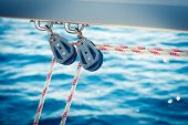 Ropes On A Sail