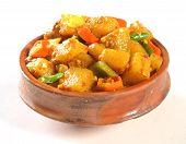 Spicy Aloo Tarkari