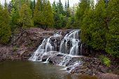 Upper Falls Of Gooseberry Falls