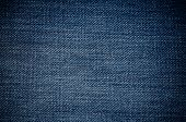 foto of casual wear  - Closeup detail of blue jeans fabric texture background - JPG