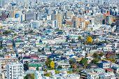 Cityscape in tokyo