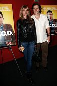 NEW YORK-OCT 3: Actors Susan Misner and Steven Pasquale attend the premiere of 'A.C.O.D.' at the Lan