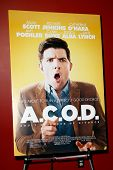 NEW YORK-OCT 3: General atmosphere at the premiere of 'A.C.O.D.' at the Landmark Sunshine Theater on