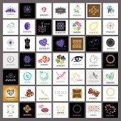Collection Of Vector Icons Jewelry, Gold Jewelry