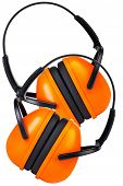 Two Hearing Protection Ear Muffs