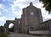 San Anton, The Ruins Of The Convent Of The Antonians. Spain