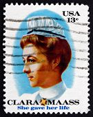 Postage Stamp Usa 1976 Clara Louise Maass