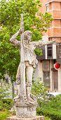 Rodrigo De Triana Columbus Seaman Statue Triana Seville Andalusia Spain