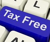 Tax Free Key Means Untaxed.
